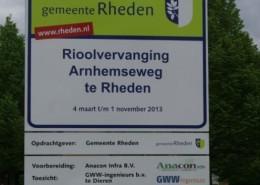 Bord gemeente Rhenen
